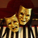 Comedy-Tragedy-Pair-in-Gold